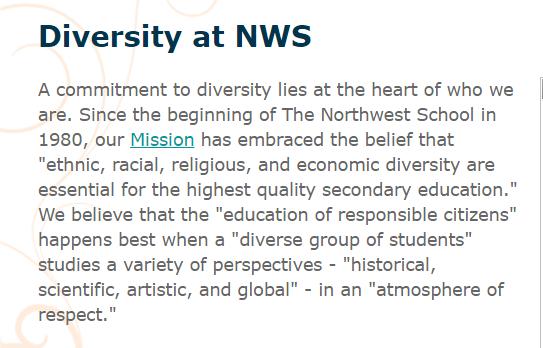 Diversity – unless…